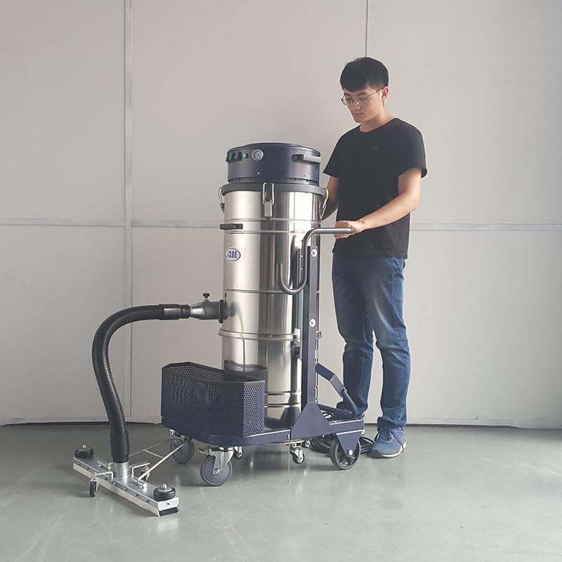手推移动式吸尘机配70cm宽前置固定吸扒