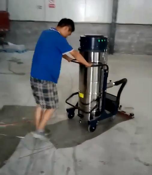艾隆工业吸尘器厂家大量批发220V大面积吸尘车